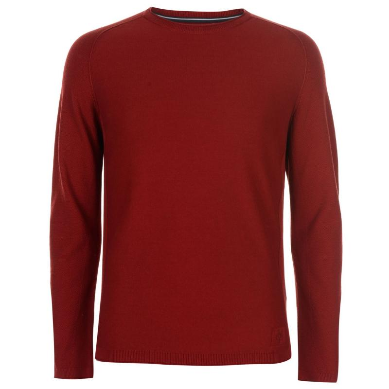 Mikina Marc O Polo Crew Knit Jumper Red