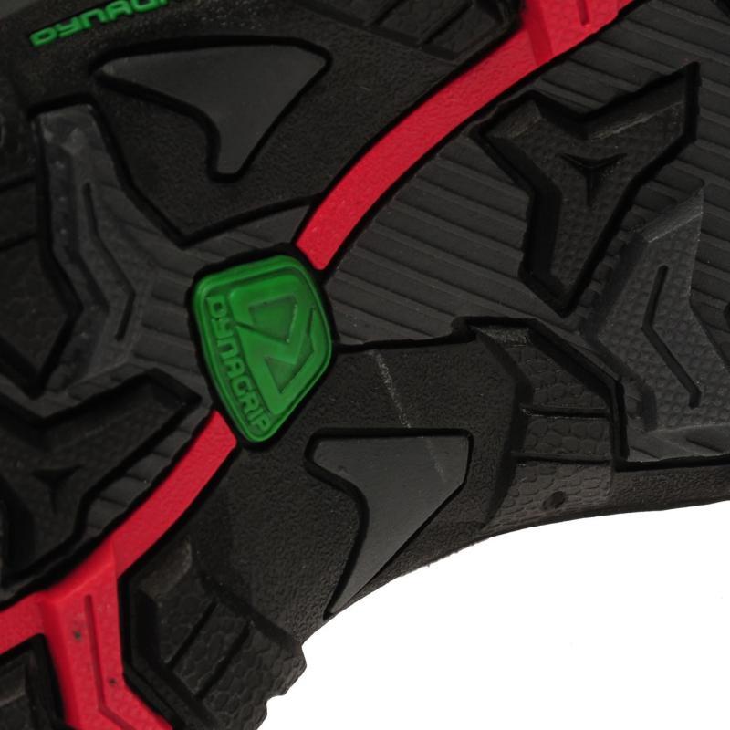 Karrimor Mount Low Junior Walking Shoes Black/Red