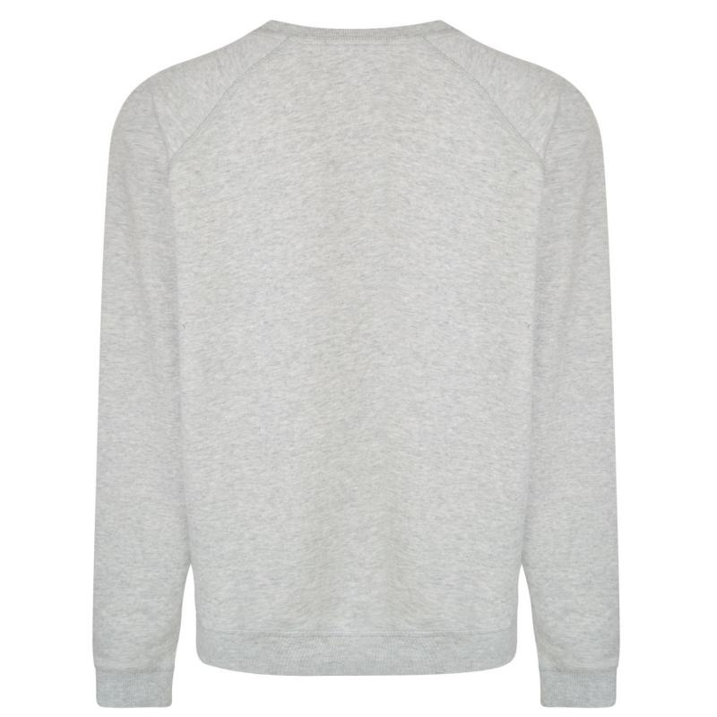 Mikina Maison Scotch Slogan Sweatshirt Grey Marl