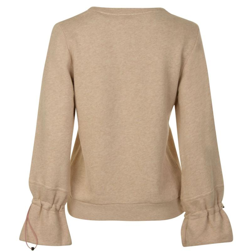Mikina Maison Scotch Sweatshirt Beige 7d