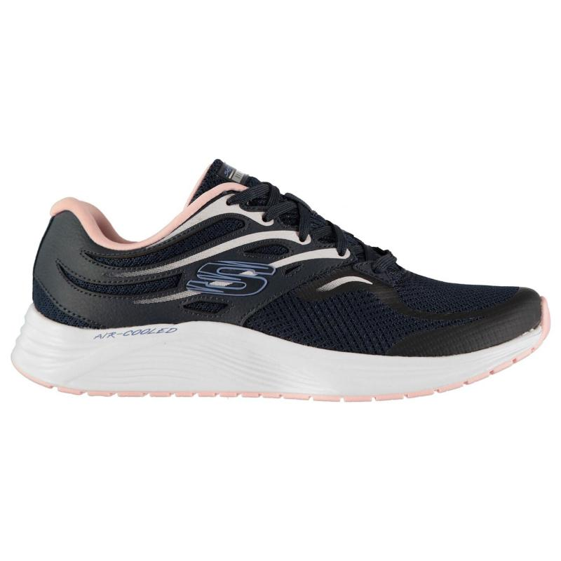Skechers Skyline Aglo Trainers Ladies Navy/Pink
