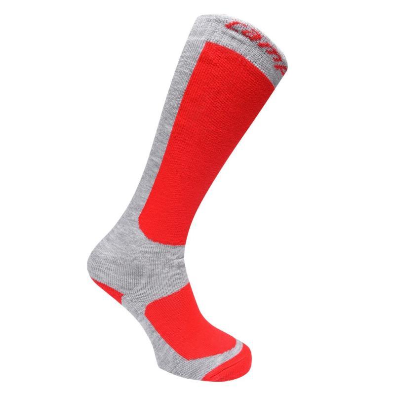 Ponožky Campri Snow Socks 2 Pack Juniors Navy/Fuschia