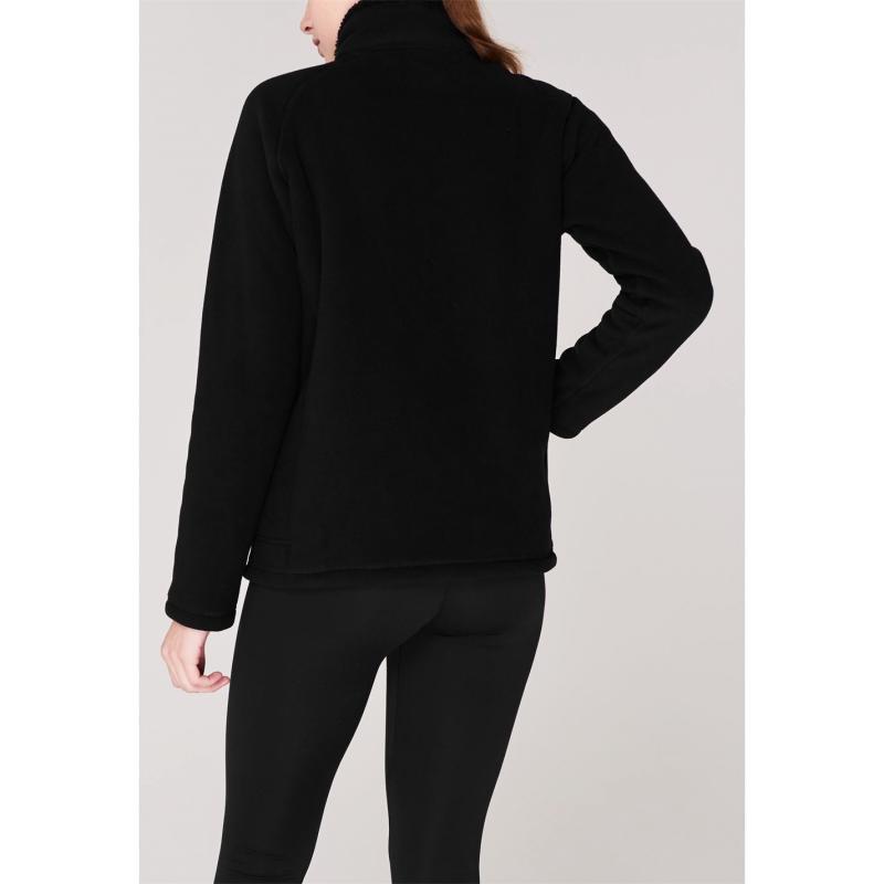 Mikina Gelert Bonded Fleece Jacket Ladies Black