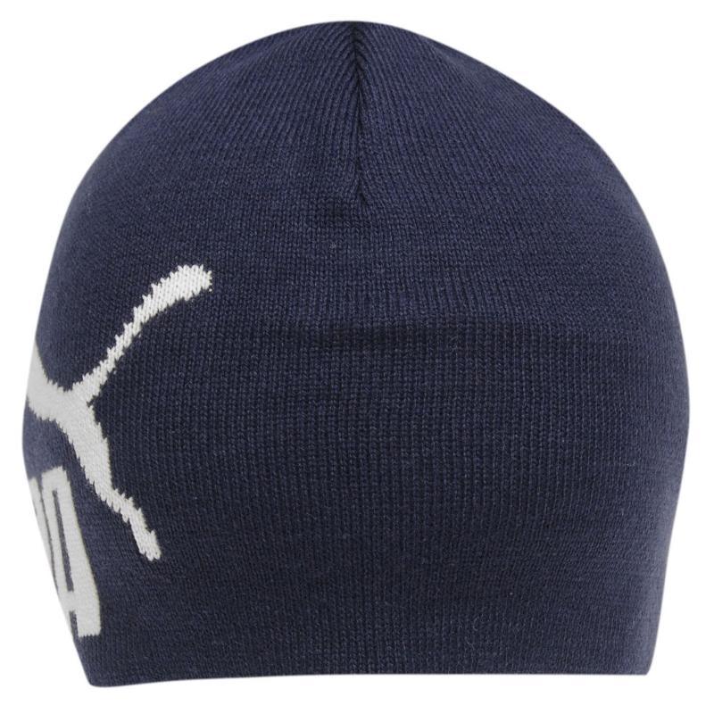Puma Big Cat Beanie Hat Juniors Navy/White