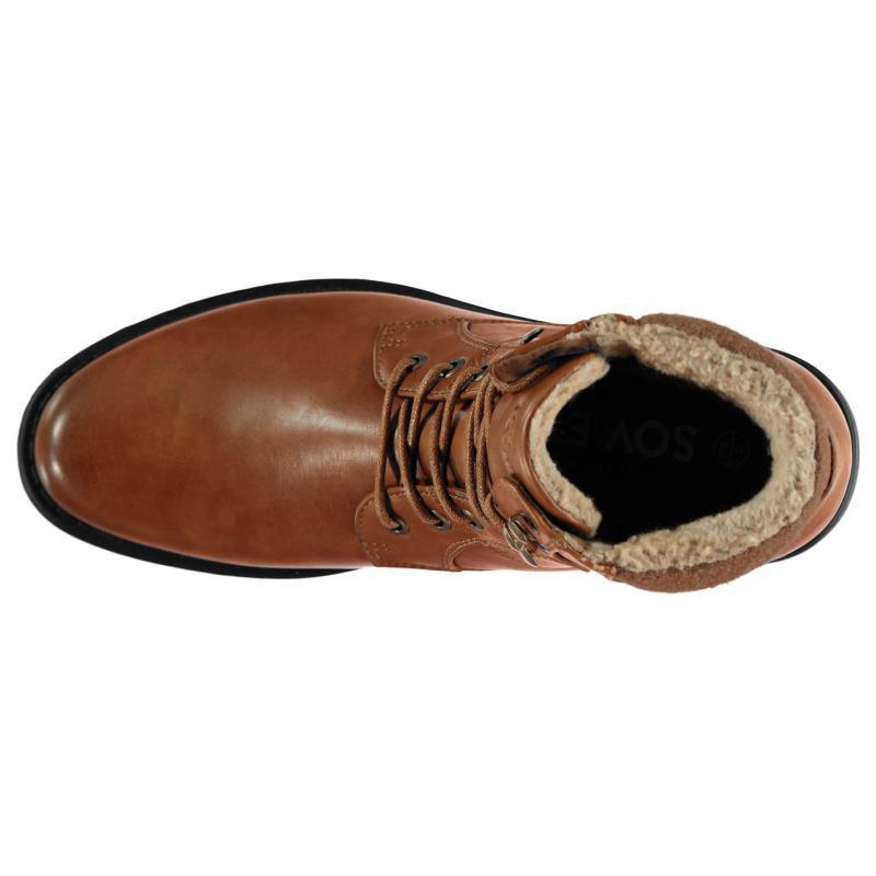Boty Soviet Kent Mens Boots Tan