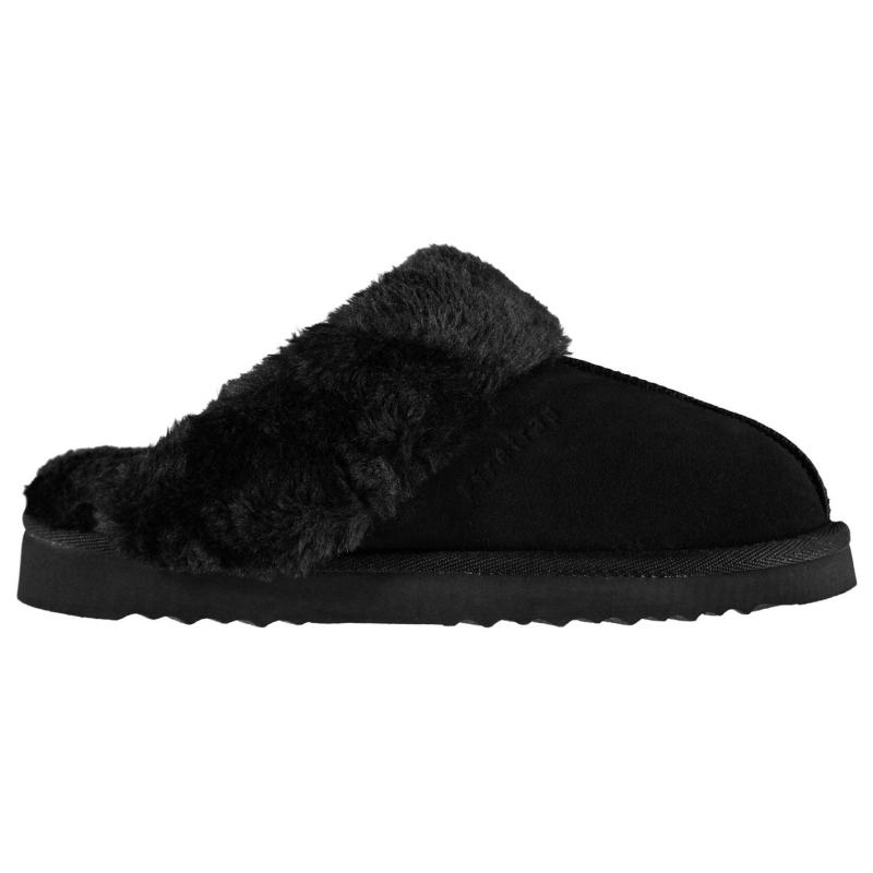 Firetrap Mule Ladies Slippers Black