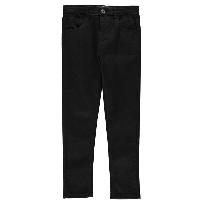 Kalhoty Firetrap Skinny Jeans Infants Dark Reg Wash