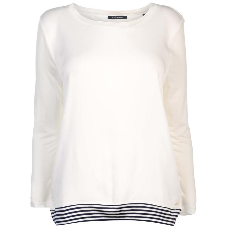 Košile Marc O Polo Trim T Shirt Desert Wind