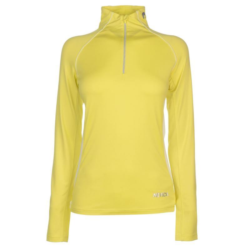 Nevica Vail Quarter Zip Top Ladies Pastel Yellow
