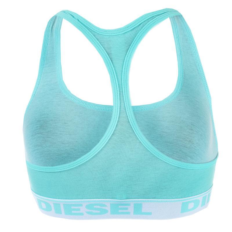 Diesel Womens Miley-Y Soft Bra aqua
