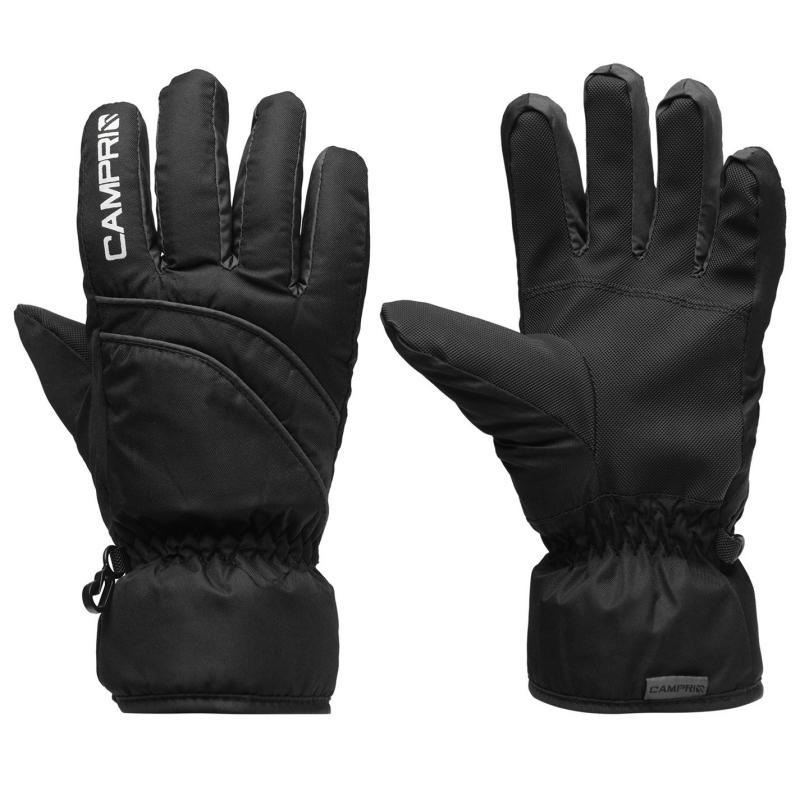 Campri Ski Gloves Juniors Black