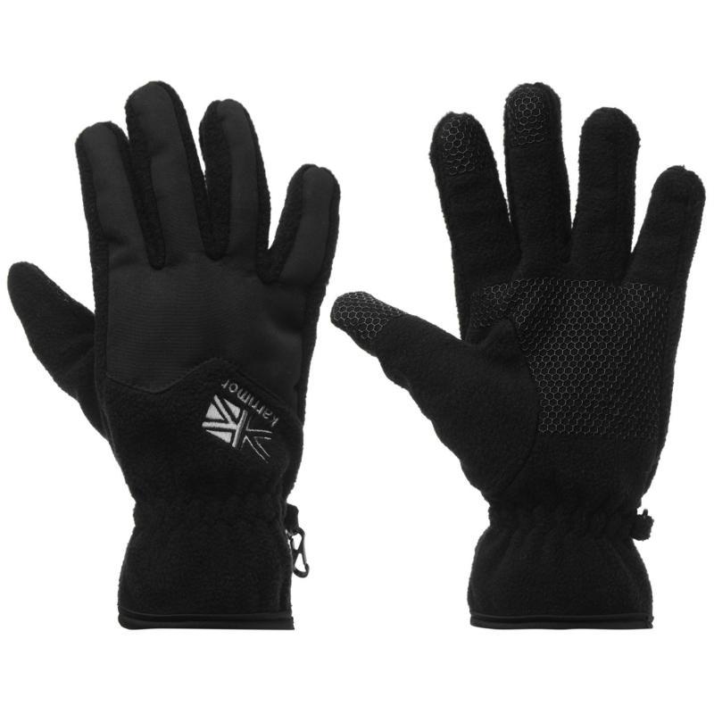 Karrimor Fleece Gloves Mens Black