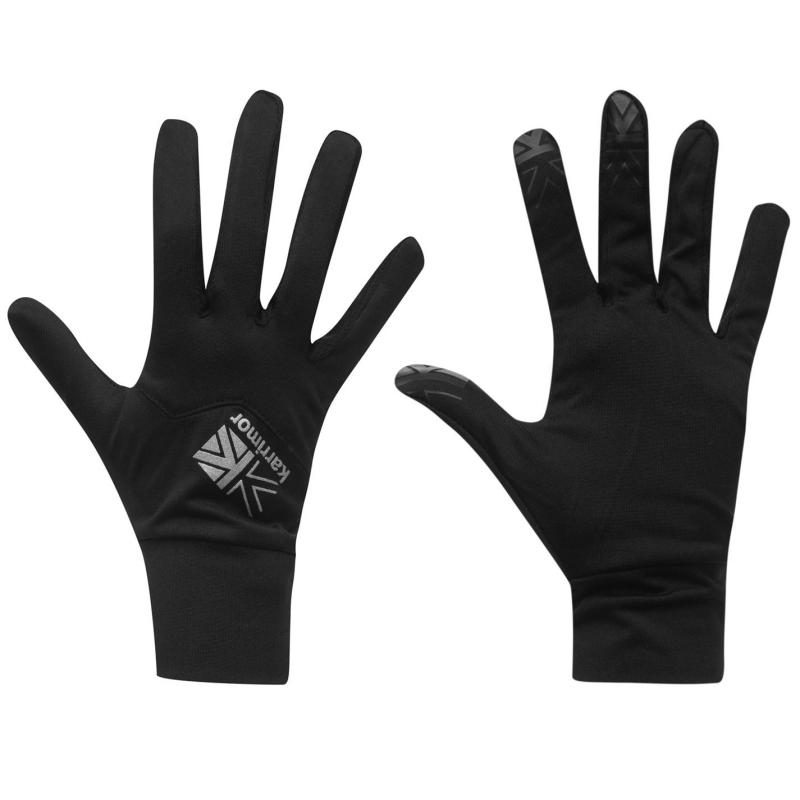 Karrimor Liner Gloves Mens Black