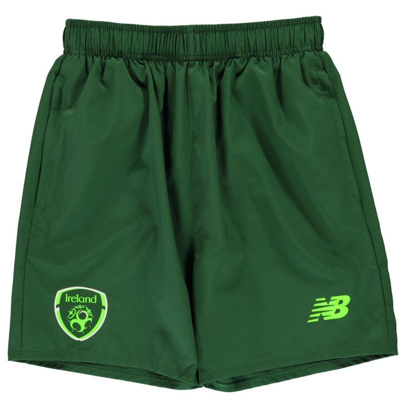 Kraťasy New Balance Ireland Elite Training Shorts Junior Boys Eden Green