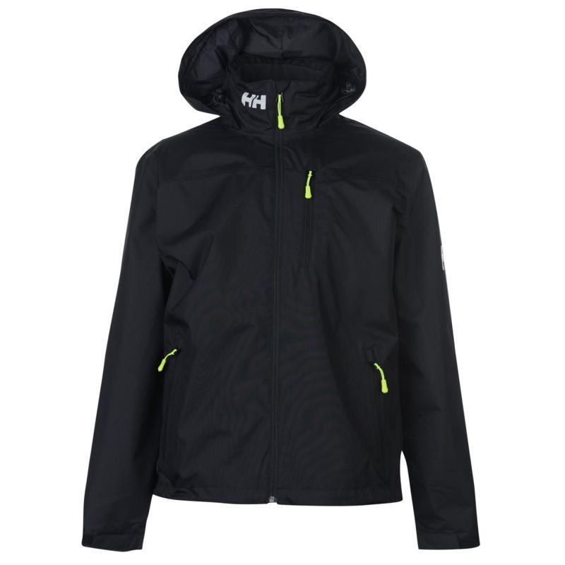 Helly Hansen Crew Hooded Midlayer Jacket Mens Black