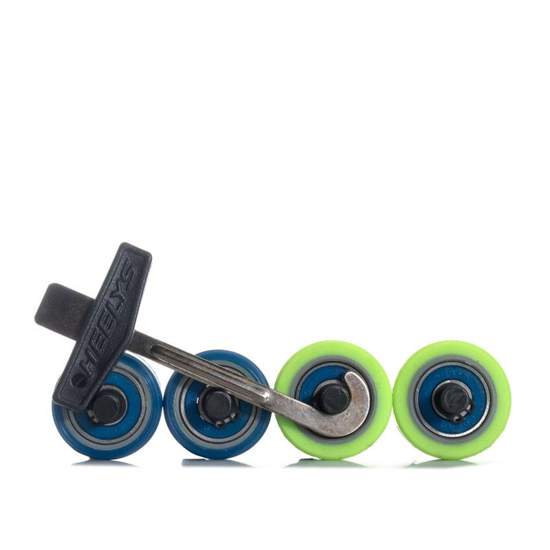 Boty Heelys Junior Boys POW X2 Skate Shoes black blue