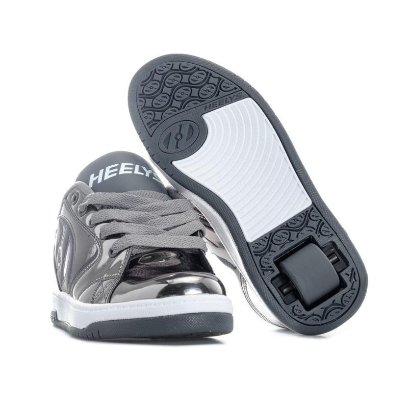 Heelys Junior Girls Propel 2.0 Skate Shoes Silver