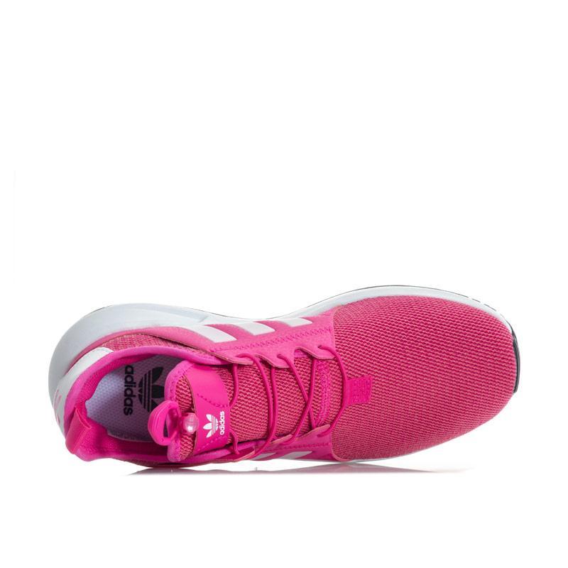 Adidas Originals Junior Girls X PLR Trainers Pink