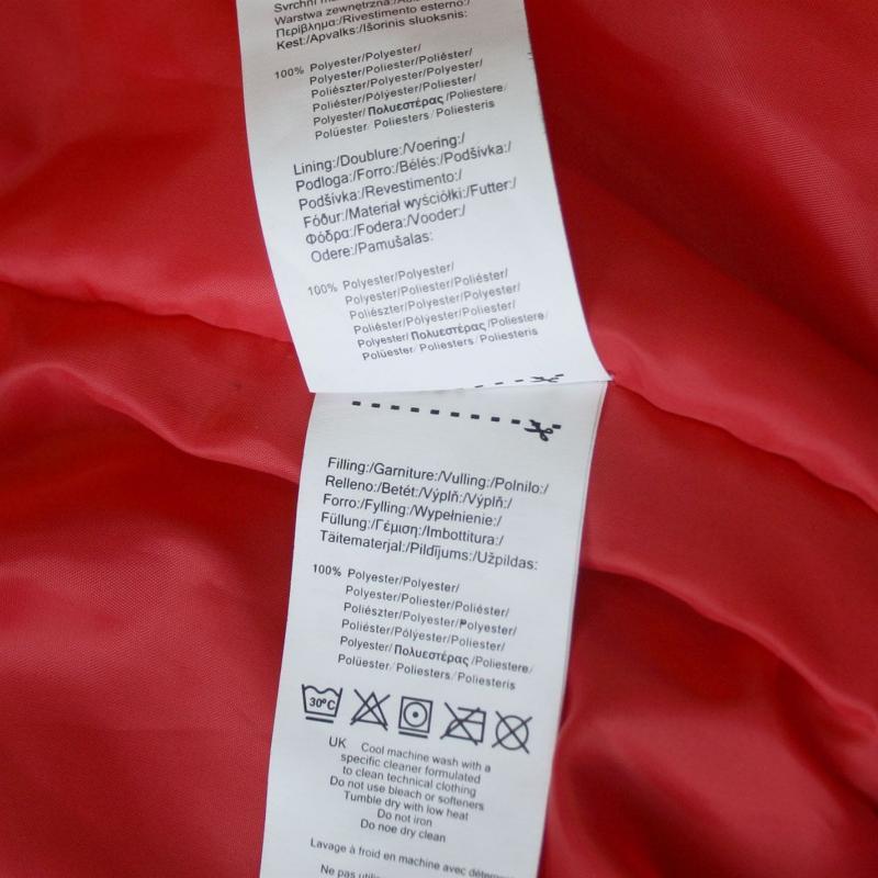 Lee Cooper Bomber Jacket Ladies Red