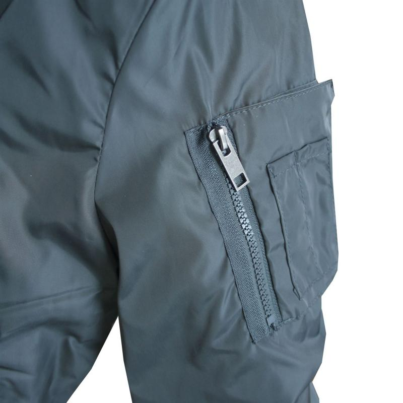 Lee Cooper Bomber Jacket Ladies Grey