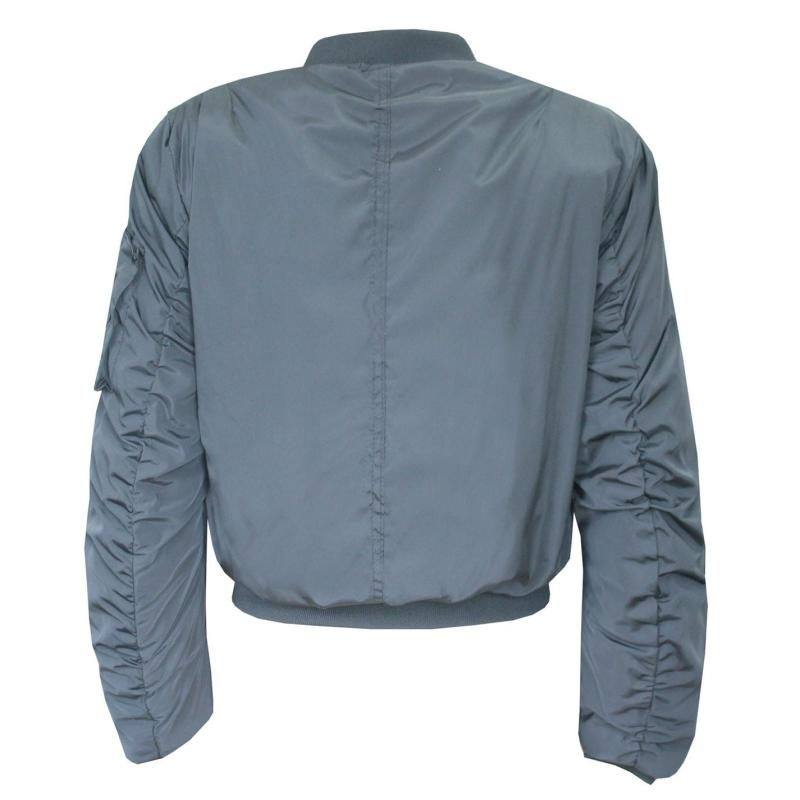 Lee Cooper Bomber Jacket Ladies Grey