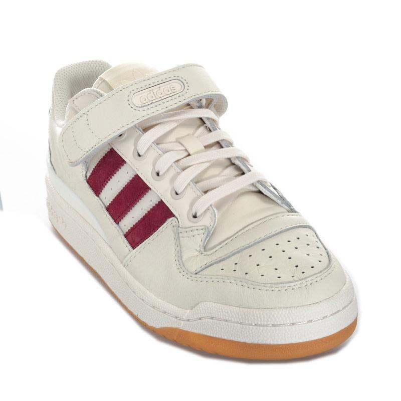 Adidas Originals Mens Forum Low Trainers White
