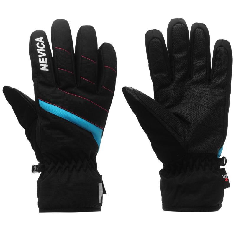 Nevica Meribel Junior Ski Gloves Black