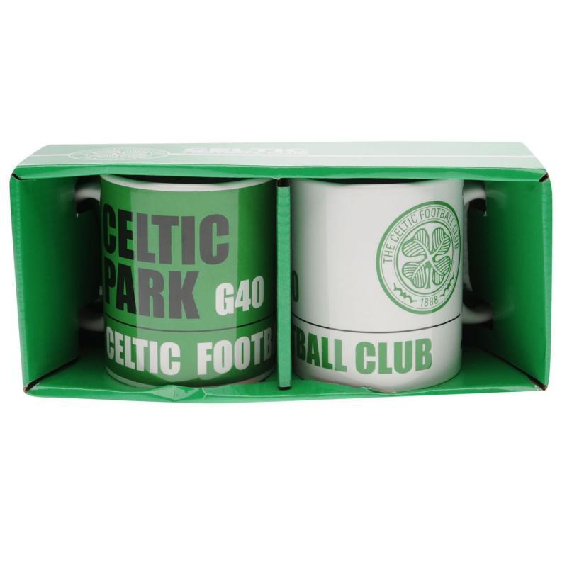 Team Twin Mug Set Celtic