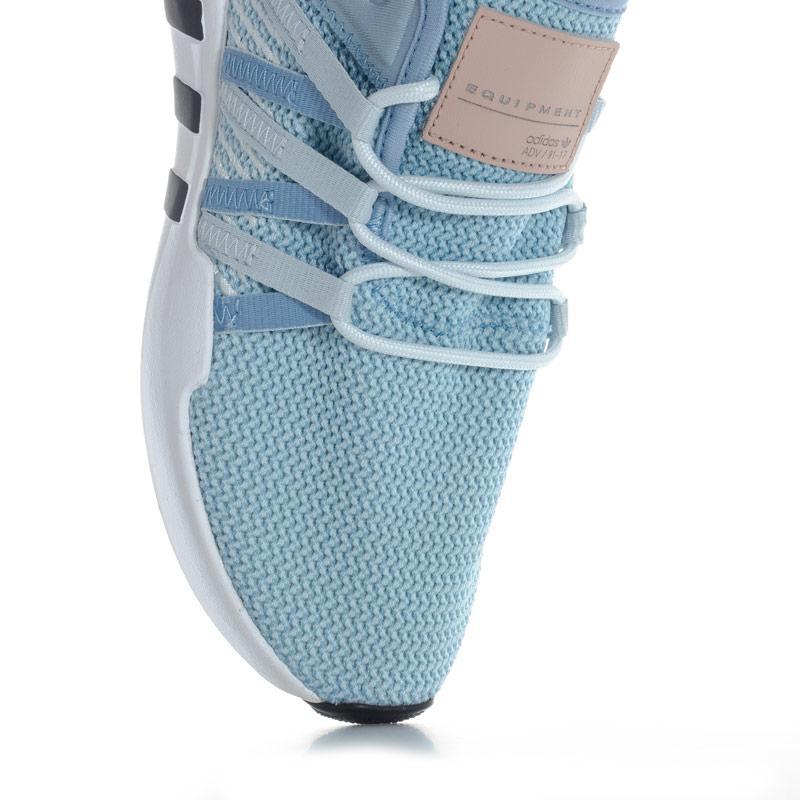 Adidas Originals Womens EQT Racing ADV Trainers Light Blue