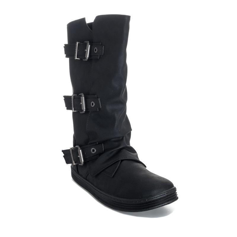 Blowfish Malibu Womens Flynt Boots Black