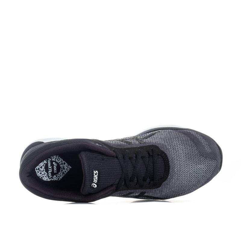 Asics Womens fuzeX Rush Running Shoes Grey black