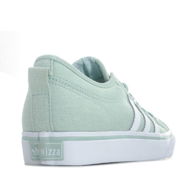 Adidas Originals Womens Nizza Trainers Green