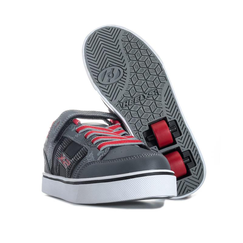Boty Heelys Children Boys Bolt Skate Shoes Black Grey