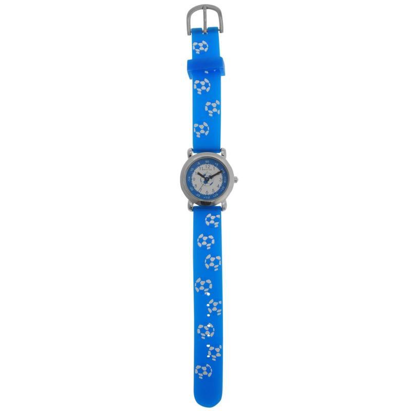 Crafted Essentials Football Watch Boys Blue