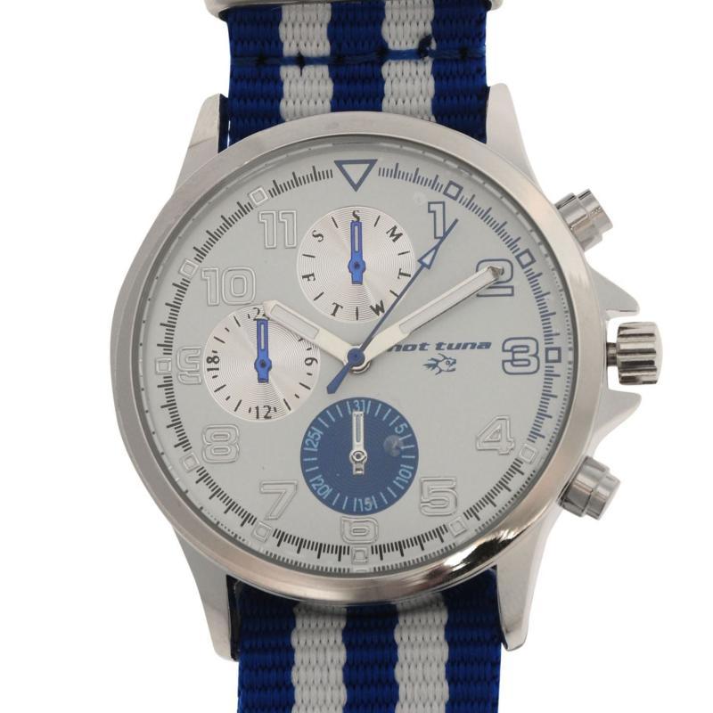 Hot Tuna Stripe Watch Mens Blue