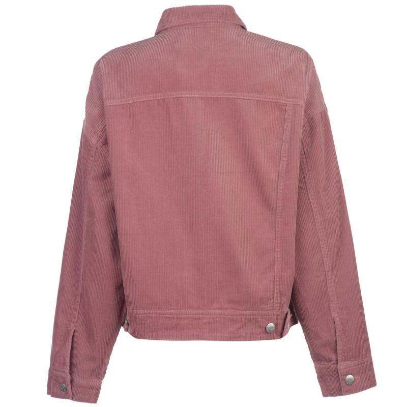 JDY Elya Cord Jacket Nostalgia Rose