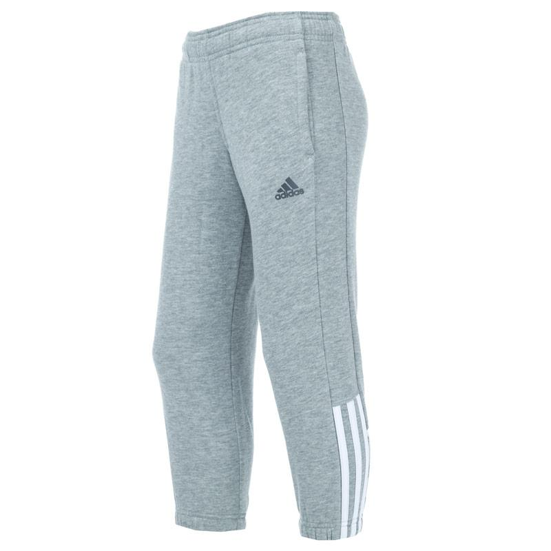 Kalhoty Adidas Performance Junior Boys Essential Sweat Pants Grey Heather