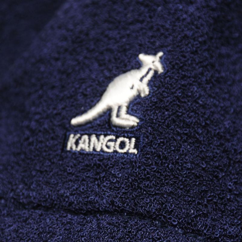 Kangol Boucle Bucket Hat Navy