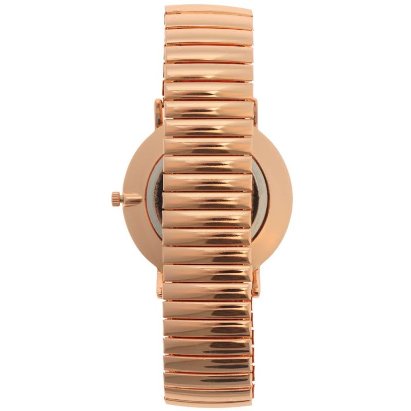 Kangol Quartz Expander Watch Mens Rose Gold