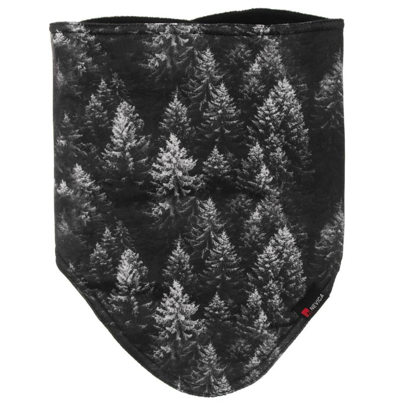 Nevica Face Mask Skuff Grey/Wht Forest