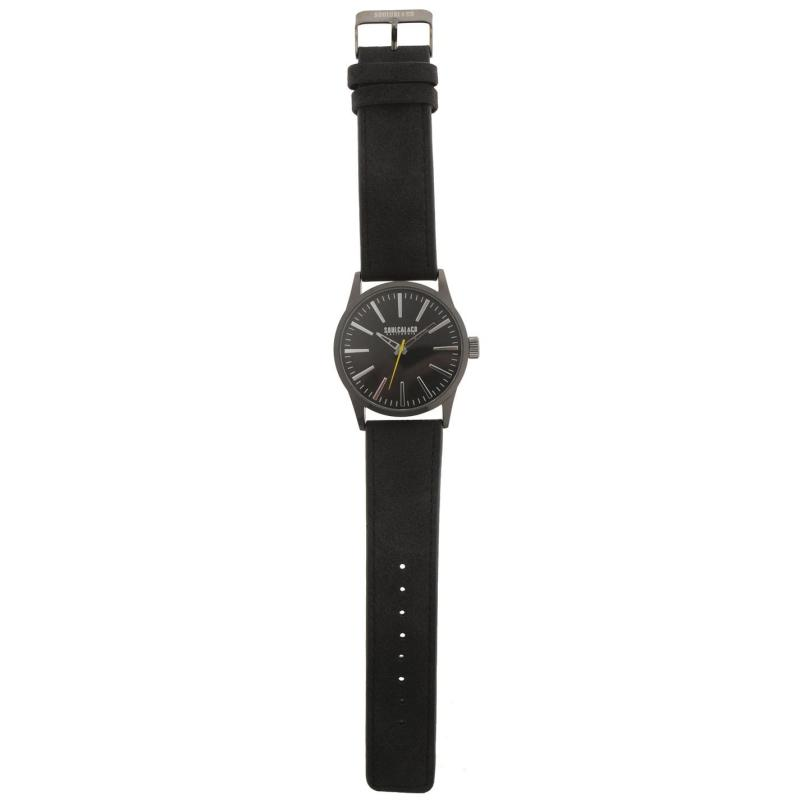 SoulCal Quartz Numberless Watch Mens Grey/Black