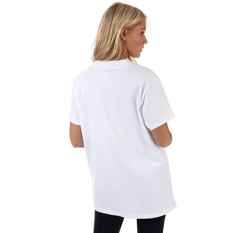 Adidas Originals Womens Big Trefoil T-Shirt White red