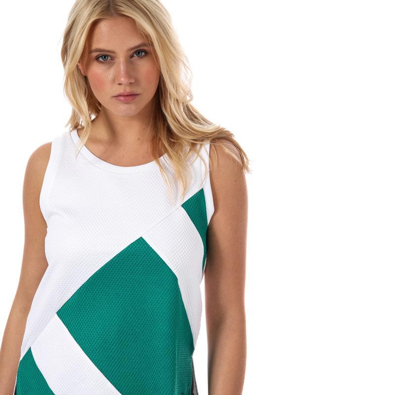 Adidas Originals Womens EQT Tank Top White Green