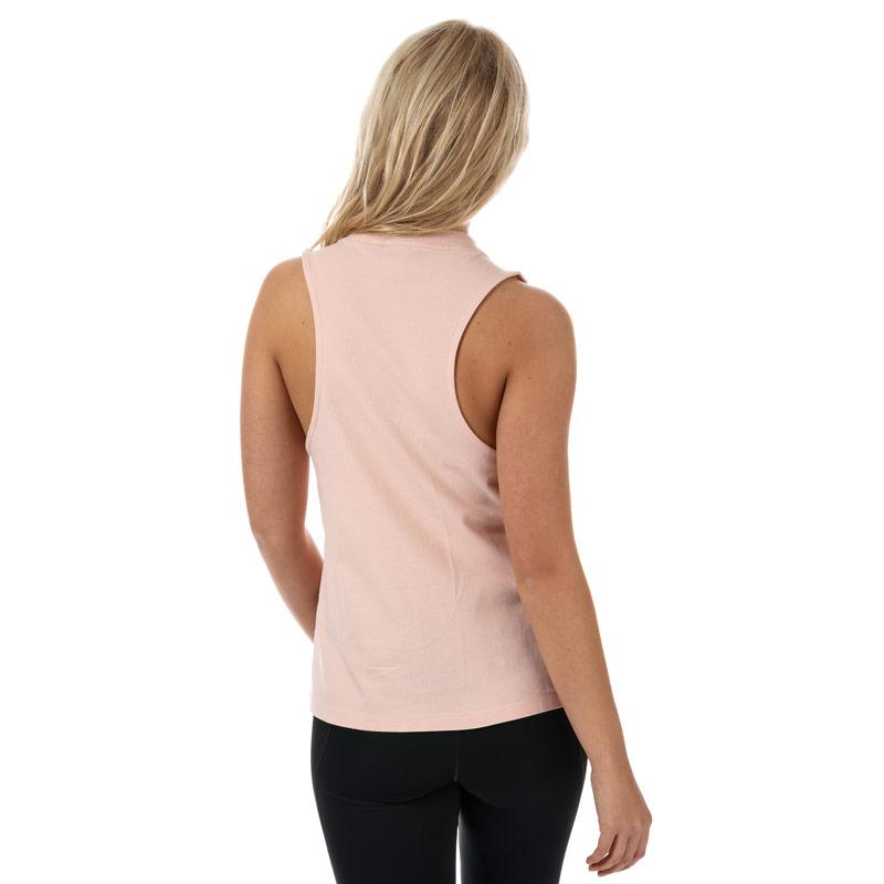 Adidas Originals Womens Trefoil Tank Top Dusky Pink