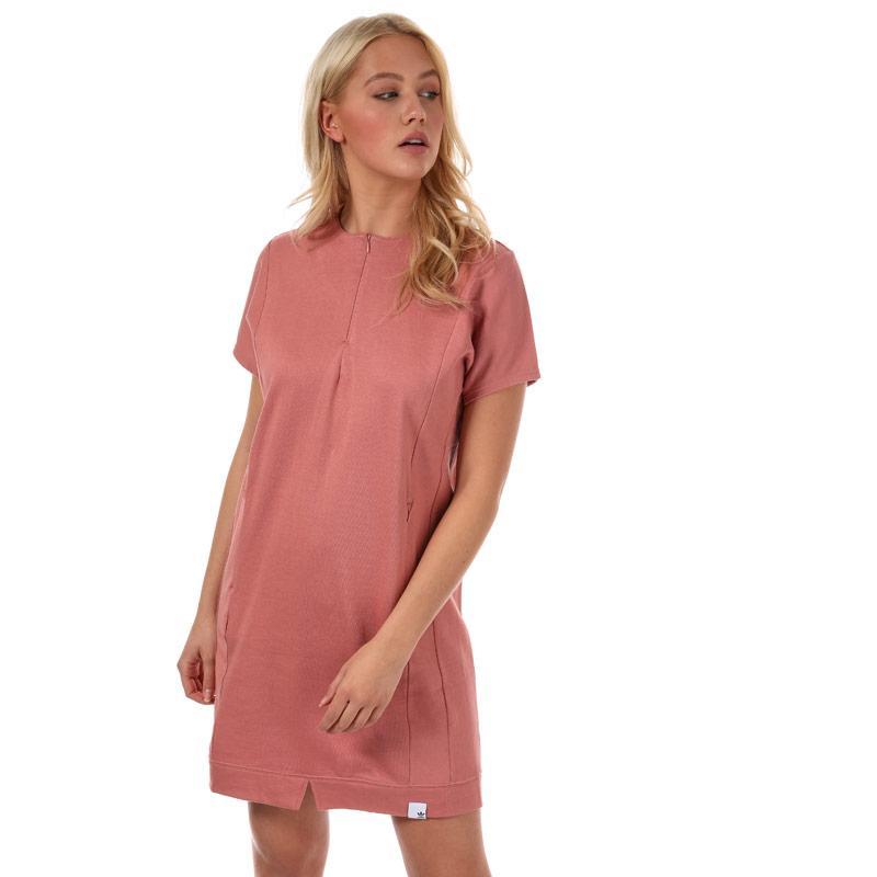 Šaty Adidas Originals Womens XBYO Dress Dusky Pink