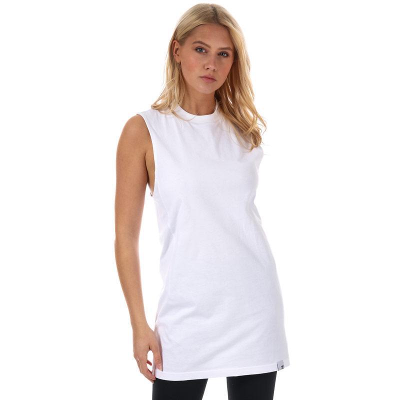 Adidas Originals Womens XBYO Tank Top White