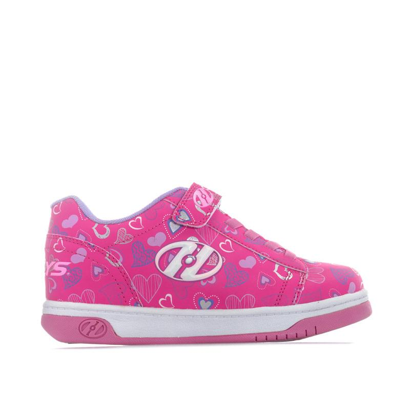 Heelys Children Girls Dual Up Skate Shoes Pink white