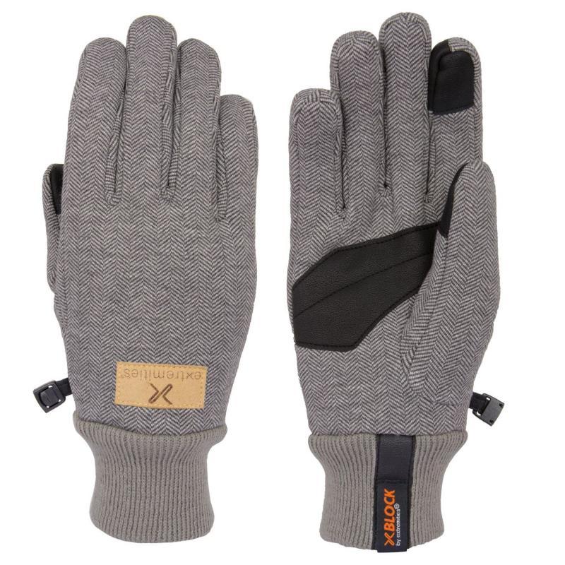 Extremities Bora Walking Gloves Charcoal