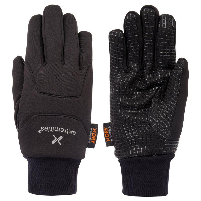 Extremities Waterproof Power Liner Gloves Adults Black
