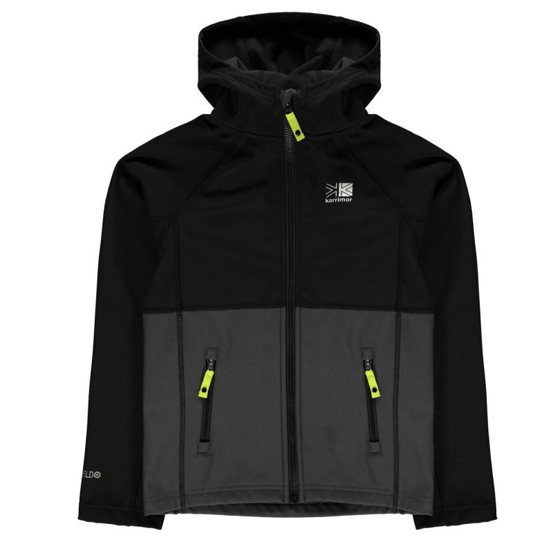 Karrimor Alpiniste Soft Shell Jacket Junior Boys Black